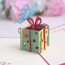3d handmade card gift card 3d pop up invitation card greeting