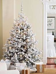 26 best flocked tree décor ideas digsdigs