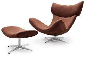 Reclining Lounge Chair 20 Reclining Leather Chair And Ottoman Nyfarms Info