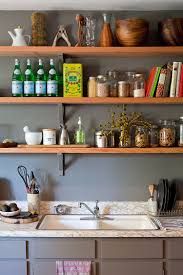 50 fabulous shabby chic kitchens that bowl you over open wooden shelves for the shabby chic style kitchen photography teri lyn fisher