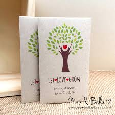 wedding seed packets diy custom seed packet wedding favors let grow custom