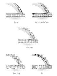 wedding band types diamond wedding band setting styles preshong ethical