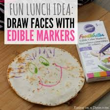 edible markers how to customize your kids lunch with edible markers on
