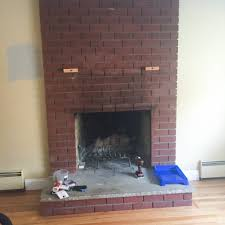 i painted my fireplace and lived to talk about it u2013 lauraelizabeth