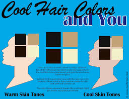 blue ash color cool and warm hair colors