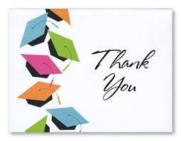 graduation thank you card graduation thank you cards graduation thank you notes for the