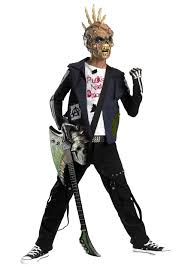 Zombie Costumes Punk Rocker Zombie Costume Halloween Costumes