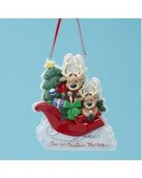 deals on resin our 1st together ornament