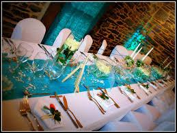 mariage bleu et blanc bleu et blanc pour un mariage au manoir du tréouret