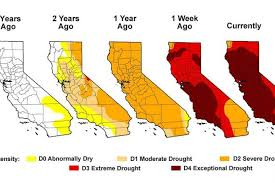 california map drought california drought 2014 exceptional drought levels now cover