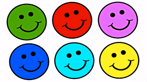 learn colours for children with smiley faces colouring page youtube