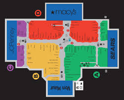 Garden State Plaza Map by Mall Map Information Design Pinterest Store Design