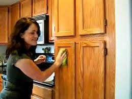 How To Make Old Wood Cabinets Look New Avoid Sanding When Prepping Cabinets To Be Painted Youtube