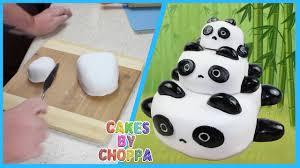 panda cake template panda cake stackable how to
