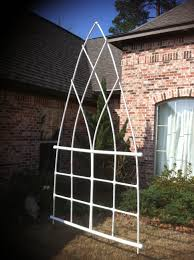 weekend project pvc trellis ready for copper paint diy and