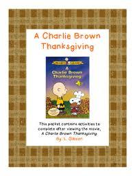 a brown thanksgiving dvd a brown thanksgiving activity packet brown