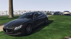 maserati green maserati quattroporte gts 1 0 for gta 5