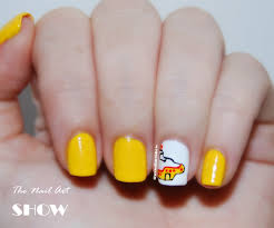 the nail art show 31 day challenge day 3 yellow nails we all