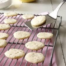 lemon u0026 rosemary shortbread cookies recipe taste of home