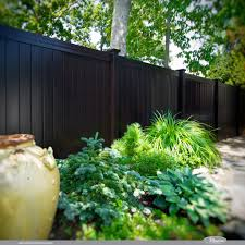 maximizing black vinyl fence u2013 outdoor decorations