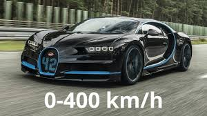 bugatti bugatti chiron 0 400 km h acceleration youtube