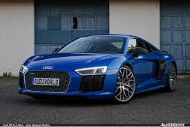 Audi R8 Blue - audi r8 5 2 plus the audi of supercars returns audiworld