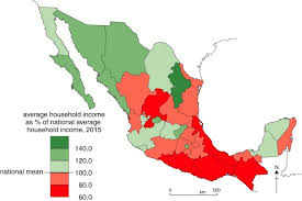 mexico map disparity geo mexico the geography of mexico