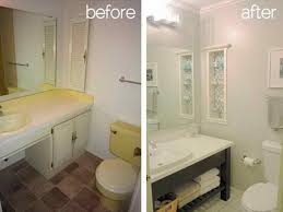 Bathroom Makeover Pictures Before And After - bathroom diy remodel before after for amazing home remodeled