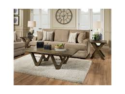 Distressed Oak Coffee Table Albany 128 Distressed Oak 0128 Cof Disoak Coffee Table With Metal