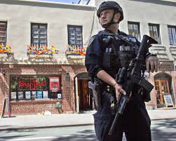new york police forces gear up for mass shootings sfgate