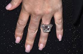 carey wedding ring carey s engagement ring in all of its 35 carat photo getty