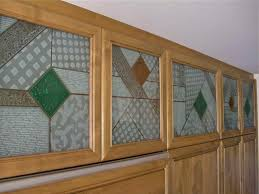 Kitchen Cabinets Glass Inserts by Cabinet Glass Sans Soucie Art Glass