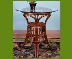 Rattan Bar Table Wicker U0026 Rattan Barstools Fro Every Decore
