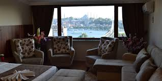 deluxe room with sea view blue istanbul hotel