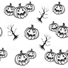 halloween pumpkin hand draw style stock vector art 606736284 istock