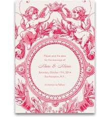 Online Save The Dates Cherub Coronation Wedding Save The Dates