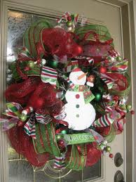 christmas mesh ribbon decorating a christmas wreath with mesh ribbon psoriasisguru
