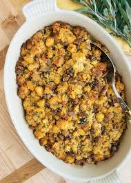 recipe for thanksgiving cornbread sausage and chestnut