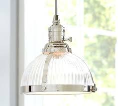 pottery barn lights hanging lights new rustic glass pendant lighting classic ribbed glass pendant