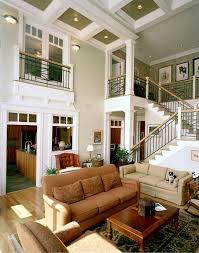 Decorative Beams Cincinnati Wrought Iron Railing Living Room Traditional With Beams