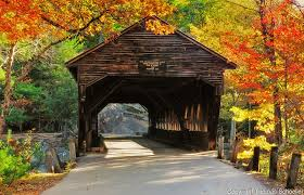 New Hampshire scenery images Albany covered bridge white mountain national forest beautiful jpg