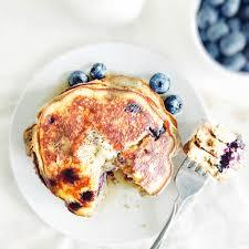 fluffy coconut flour blueberry pancakes simply taylor