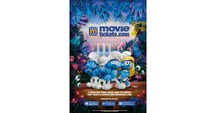peyo auto movietickets com teams up with sony pictures entertainment for