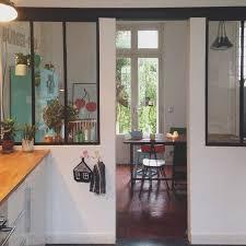 ouverture entre cuisine et salle à manger contact cuisine moderne avec verriere agrandir une cuisine