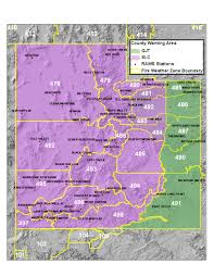 Idaho Time Zone Map by Great Basin Coordination Center