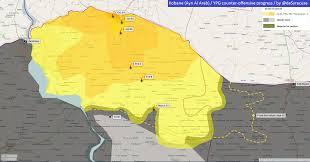 Syria Control Map by Agathocle De Syracuse Syria Kobane Ypg Counter Offensive 19 Jan