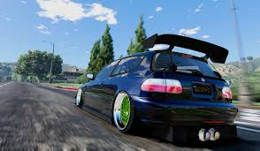 94 honda civic eg hatchback honda civic eg vti 94 delsol frontswap add on tuning gta5