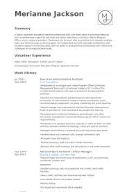 Legal Administrative Assistant Resume Sample by Executive Administrative Assistant Resume Samples Visualcv