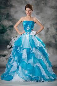 robe mariage bleu robe mariage sur mesure princesse turquoise