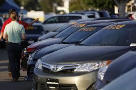 toyota auto dealership autonation profit slumps 16 on car incentives wsj